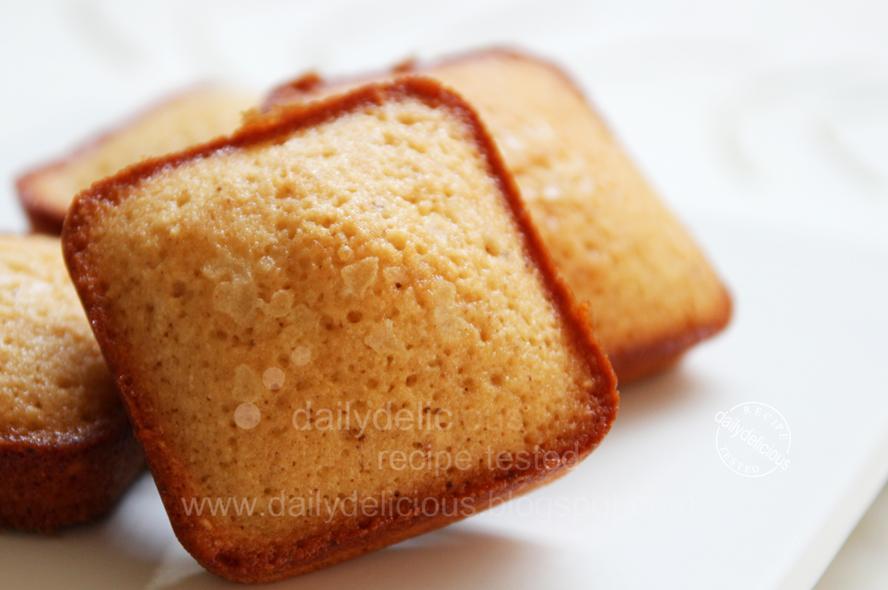Brown Butter Financier Cake