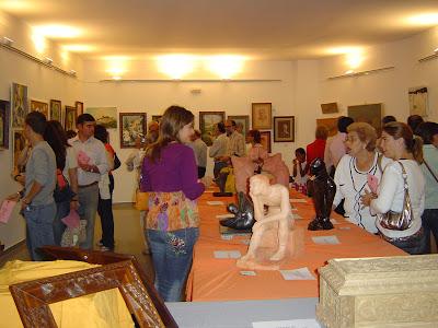 Imagen de la Exposición de Arte Colectivo del año pasado, visitada por un gran número de personas