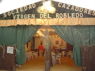 Caseta Sdad.Los cazadores Virgen del Robledo. Segundo premio