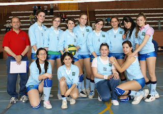 Equipo femenino voleibol Constantina