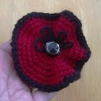 Beautiful Poppy Brooch