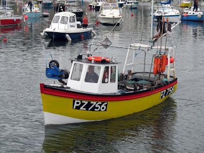 Waiting Fishing Boat Yellow