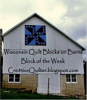 Wisconsin Quilt Blocks on Barns