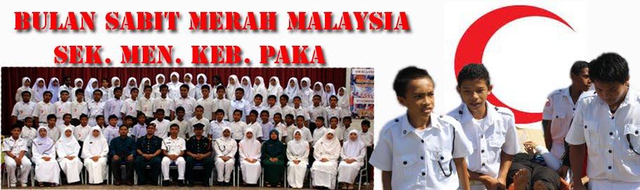 Bulan Sabit Merah Malaysia (BSMM) SMK Paka