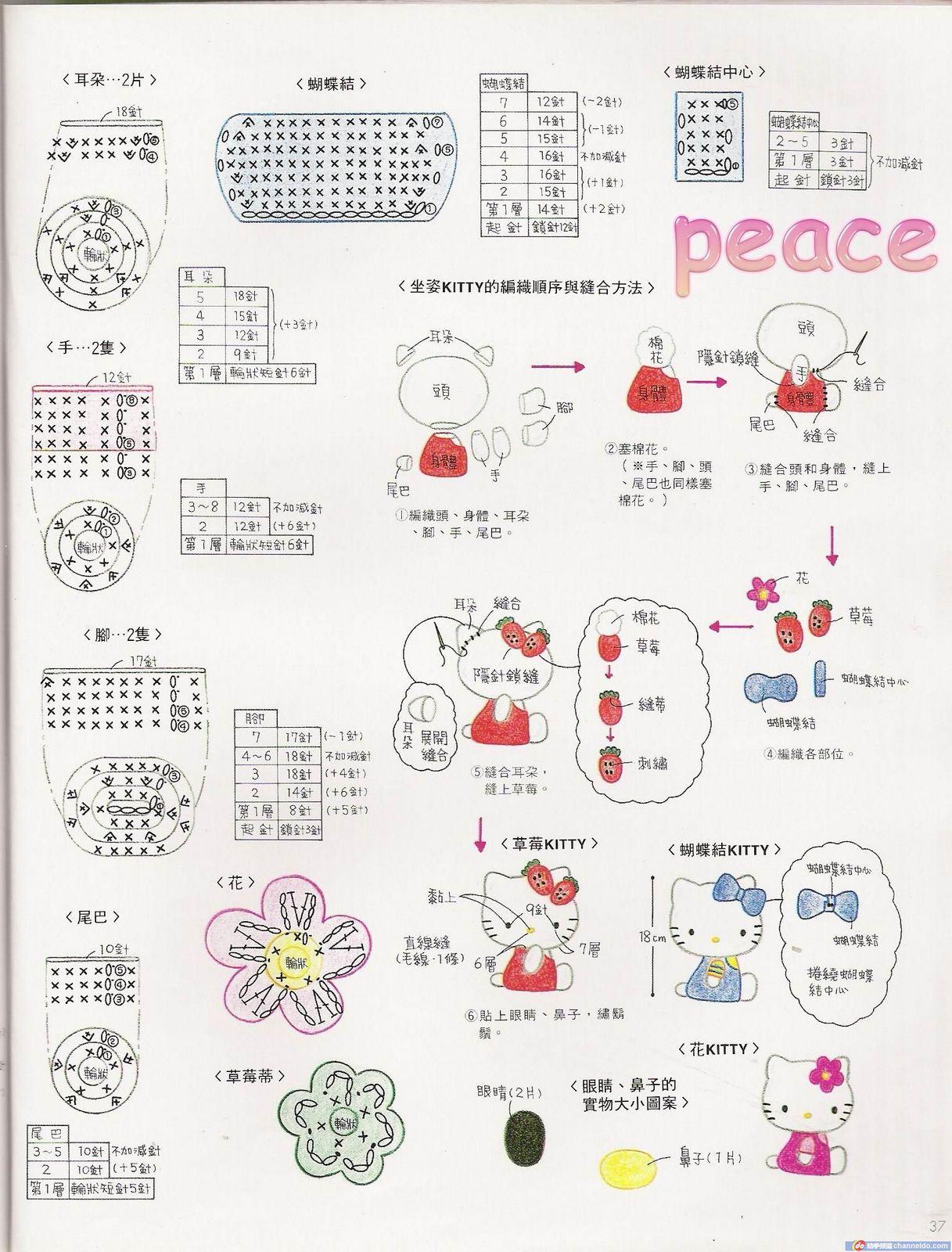 Free Crochet Pattern Heart Shaped Baby Doll : Amigurumi patrones en espanol - Imagui