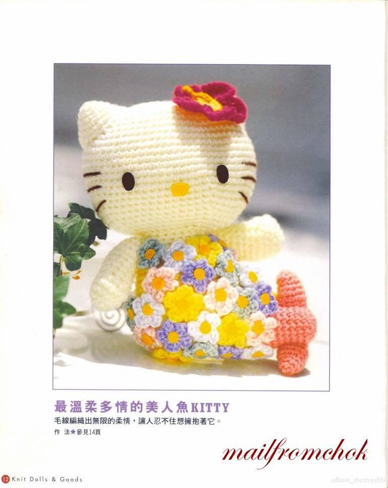 Blog de Goanna: Patron Hello Kitty con vestido de flores ...