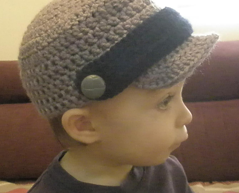 Crocheting Blogs : Blog de Goanna: Patron de Gorra Visera en Crochet