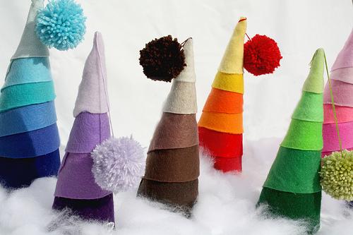 Blog de goanna tutoriales de arboles de navidad en - Arboles de navidad de tela ...