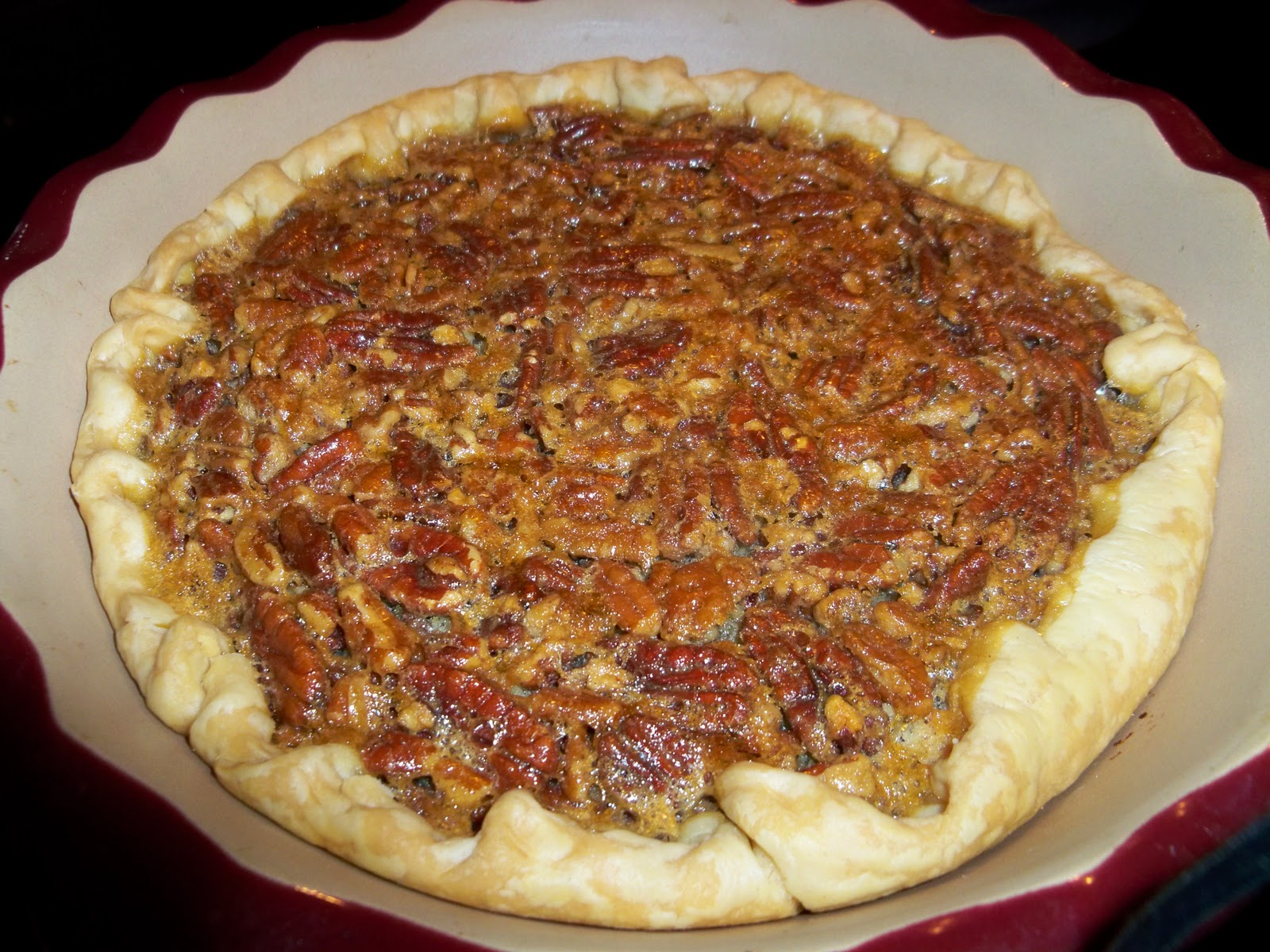 ... Recipes: Lisa's Southern Pecan Pie - from The Lady & Sons Cookbook