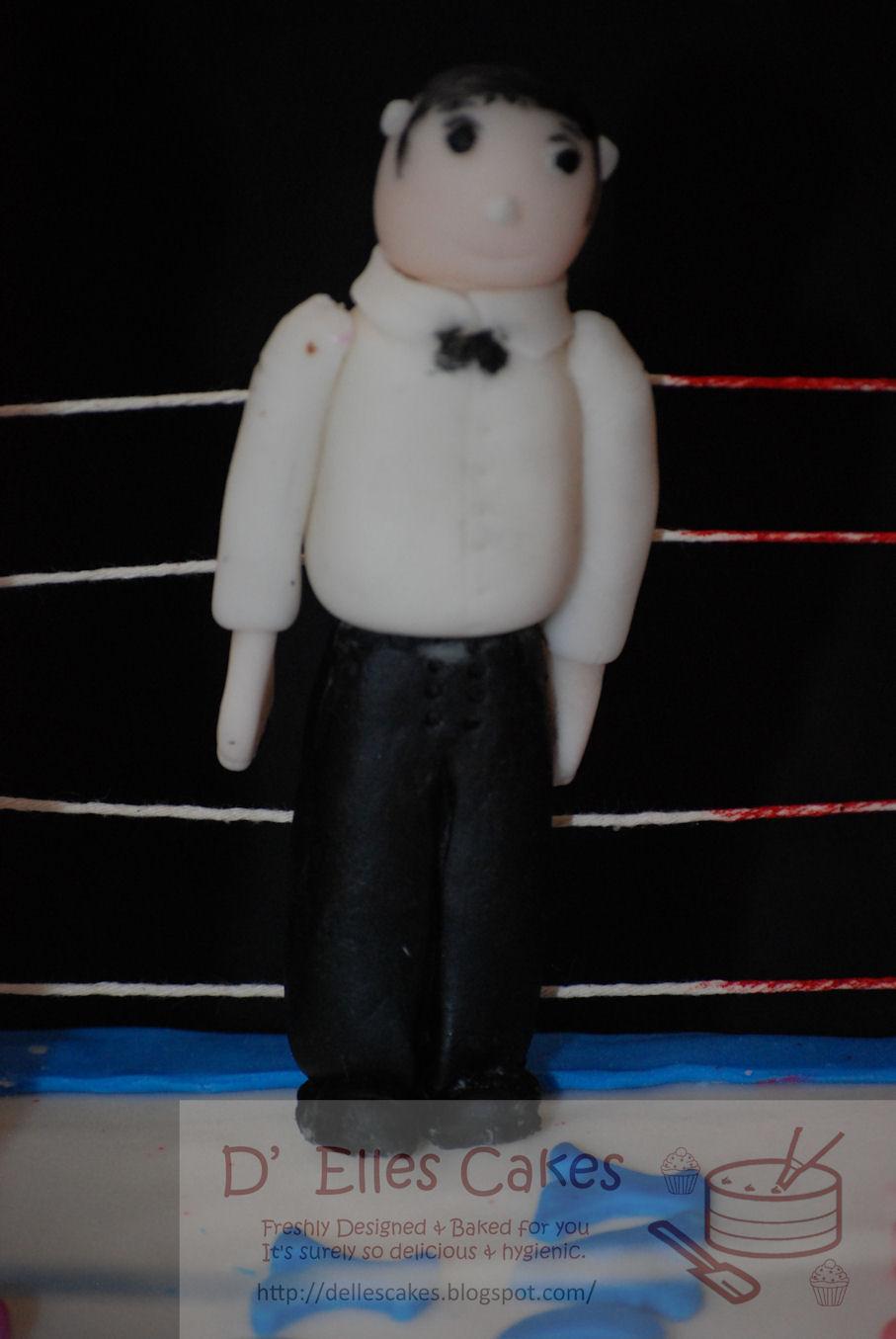 Thai Boxing Cake