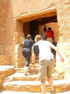 Inside Kasbah