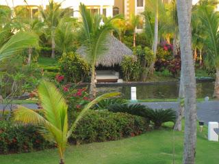 Hidden beach bed at Paradisus Palma Real