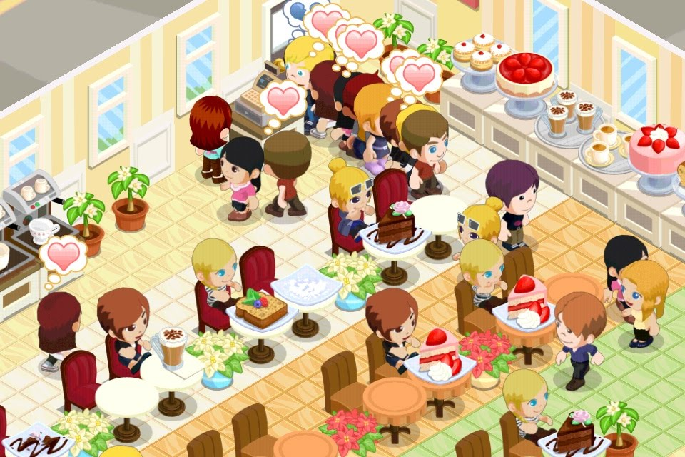 Grousing in progress game review bakery story for Bakery story decoration ideas