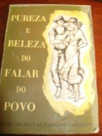 PUREZA E BELEZA DO FALAR DO POVO