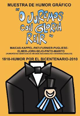 Expo 'HUMOR POR EL BICENTENARIO: O JUREMOS CON GLORIA REÍR'