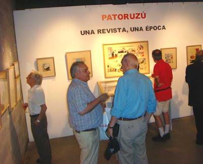 Vista general de la Muestra 'Patoruzú, una revista una época'
