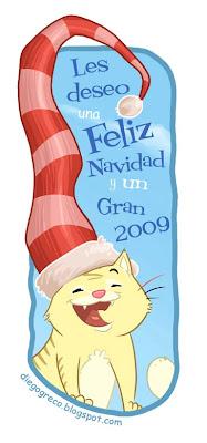 Feliz Navidad y gran 2009 por Diego Greco