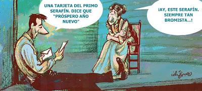 Tarjeta de Fina de Año de Idígoras & Pachi