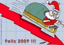 Tarjeta de fin de año: Feliz 2009!!! por Nando