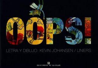Tapa de OOPS! el libro de Kevin Johansen y Liniers