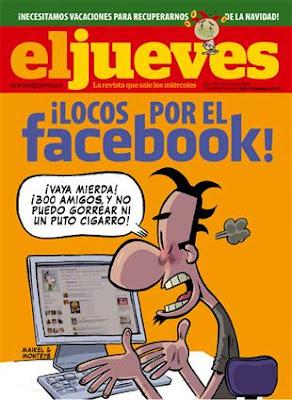 El Jueves número 1650: El facebook