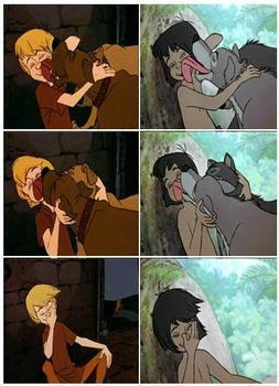 Similitudes entre dibujos de Disney 2
