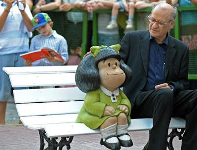 Mafalda y Quino volvieron al barrio