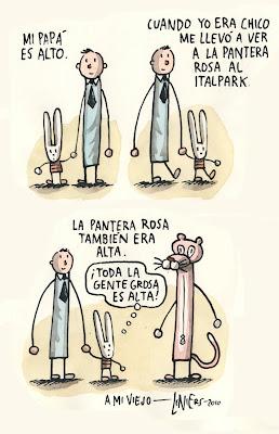 Feliz Dïa del Padre por Liniers