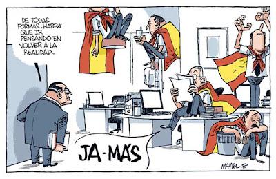 España Campeón de Mundo, por Manel Fontdevila
