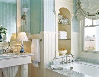 Rmnorge inspirasjon bad for New england style bathroom ideas