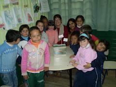 Montando um aquário na sala de aula