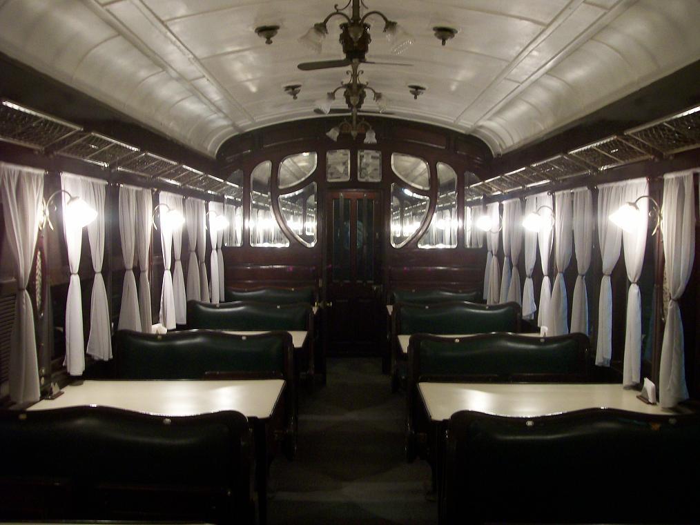 ¿Querés cenar en un tren inglés como el de Harry Potter?