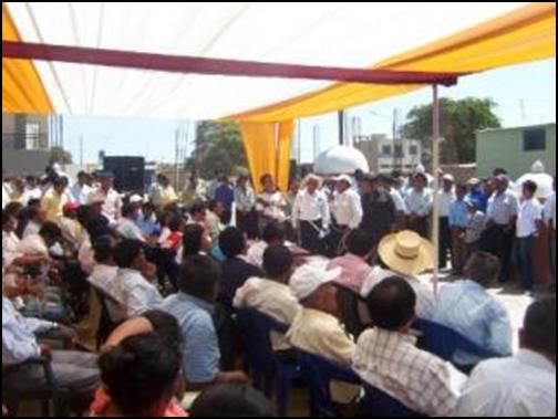 250 caficultores tomaron Pacca y pidieron crear una EPS