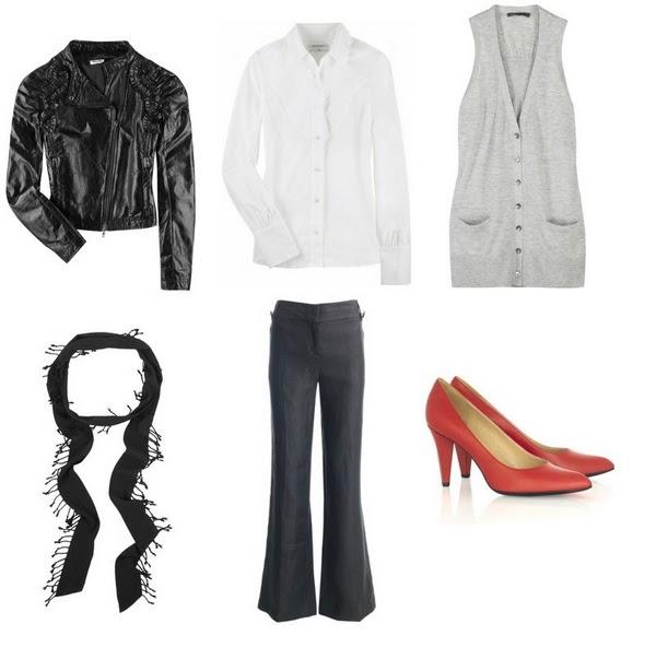 Bu00e1sicos de Invierno Outfit Nu00ba 3El poder del Color. | Mucha Moda