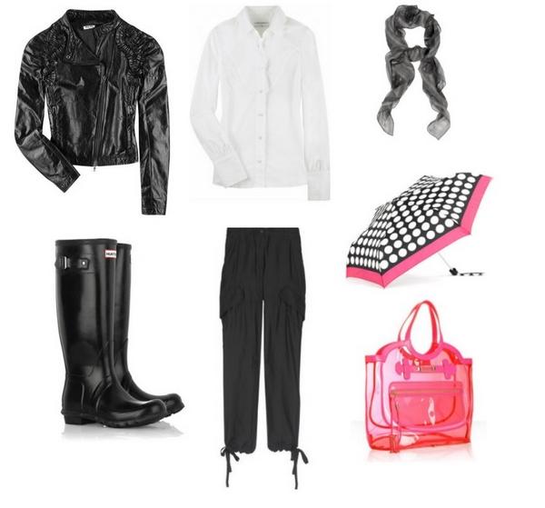 Bu00e1sicos de Invierno Outfit Nu00ba 8 Lluvia chic. | Mucha Moda