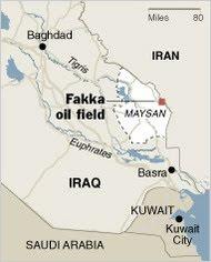 Расположение нефтяных полей Факка. Фото:3.bp.blogspot.com