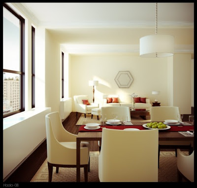 Dining Room Interior Design - Modern Style