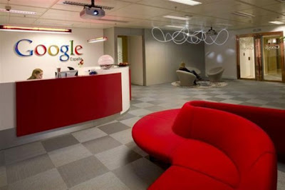 Modern Google Office Design Madrid