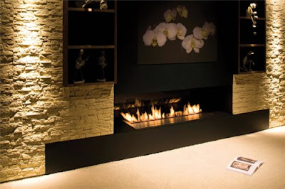 Modern Fireplace Decorating Ideas