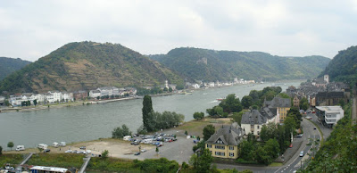 Castle Rheinfels in St. Goar Panorama