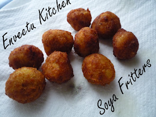 Nutrela Soya Fritters- The Tarla Dalal Version