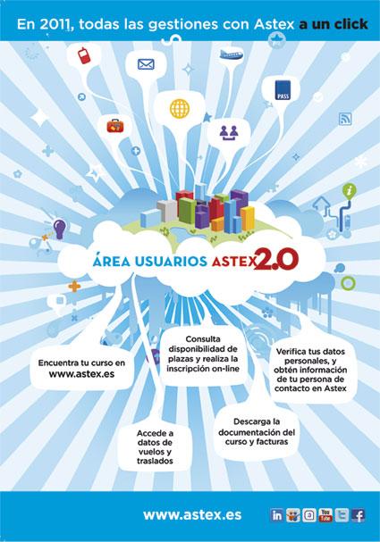 Campaña redes área usuarios Astex