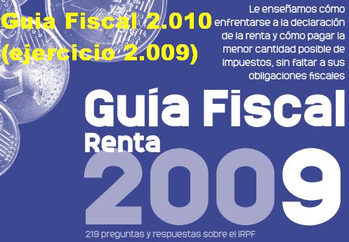 Guia Fiscal 2.010 (Ejercicio 2.009)