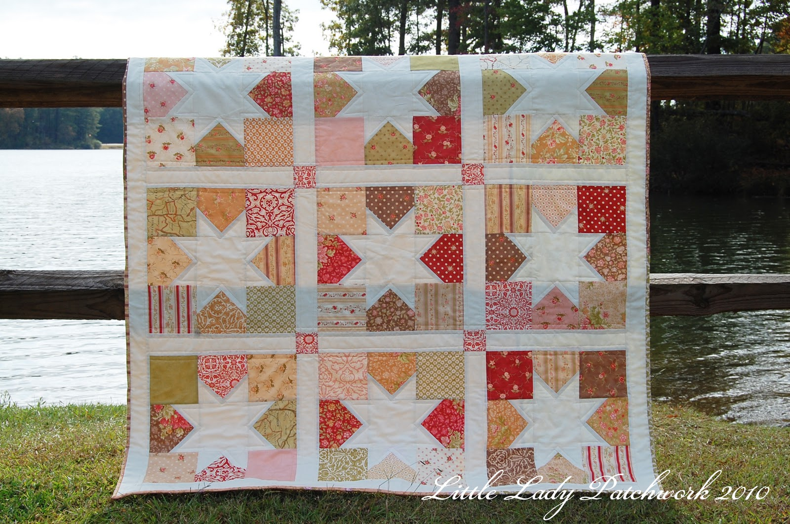 Little Lady Patchwork Charming Stars The Fig Tree Version