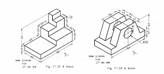 Multiview Drawing Exercises moreover Isometric Sketching further Orthographic Drawing as well Orthographic Worksheets moreover Engineering Drawing Geometric Construction Orthographic And Isometric Projection. on multi view orthographic projection sketch