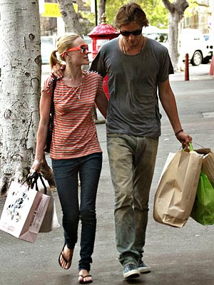 Kate Bosworth and her beau, supermodel James Rousseau, were seen in Sydney