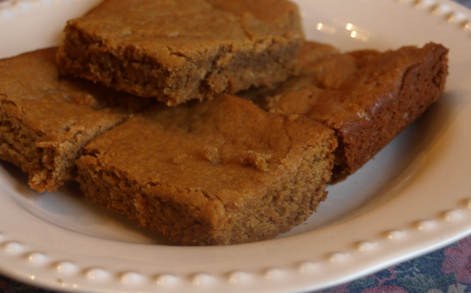 Grain-Free Foodies: Peanut Butter Brownies