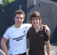 Alex Turner y Matt Helders