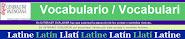 Vocabulario electrónico e interactivo latino