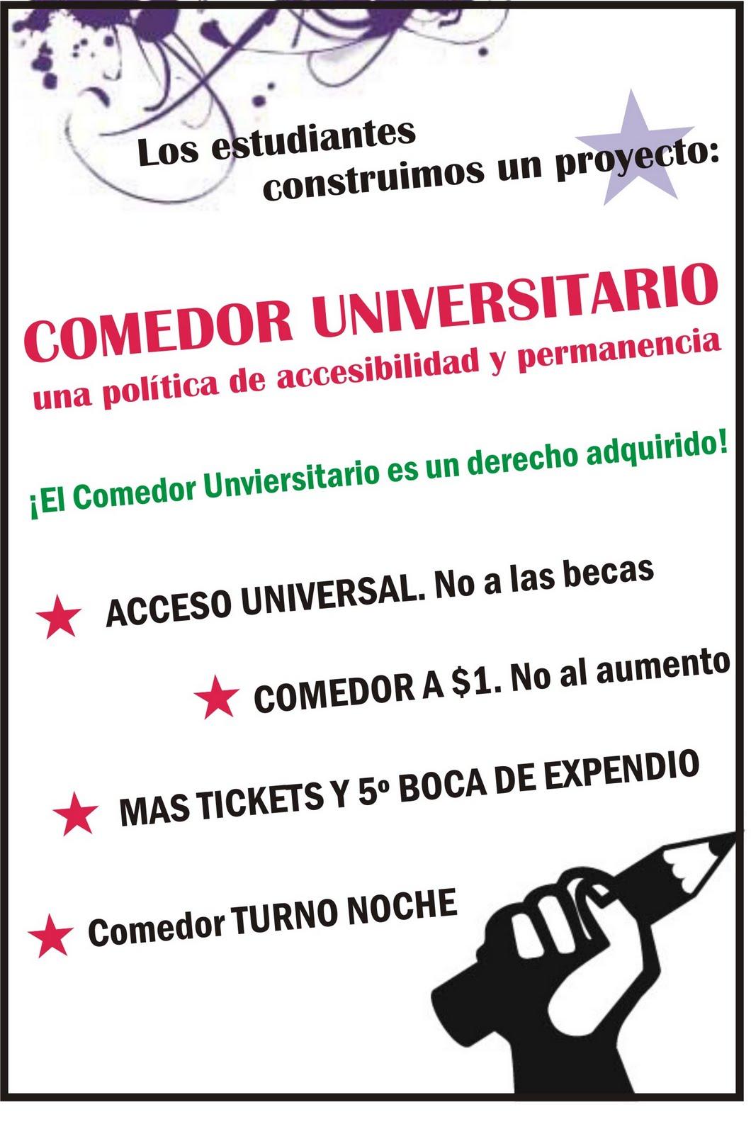 Fulp Comedor Universitario Los Estudiantes Construimos